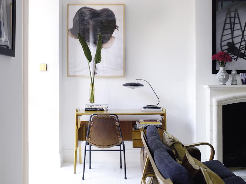 soggiorno e camera da letto