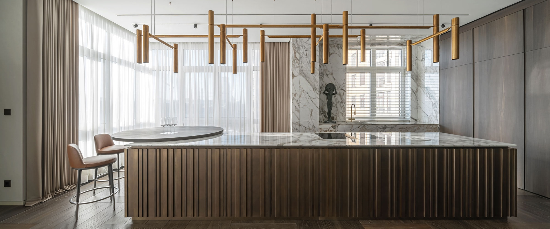 Architectural excellence in the interior design of Grand Apartment