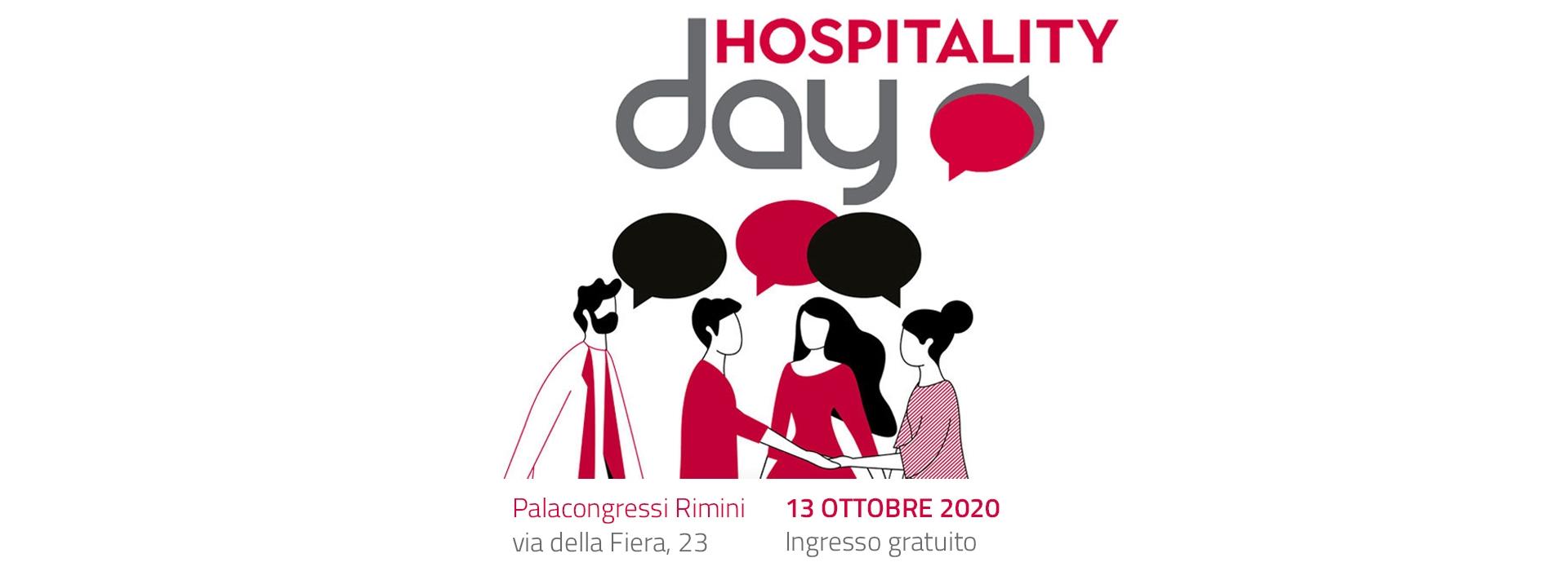 Il 13 ottobre saremo a Rimini all'Hospitality Day 2020