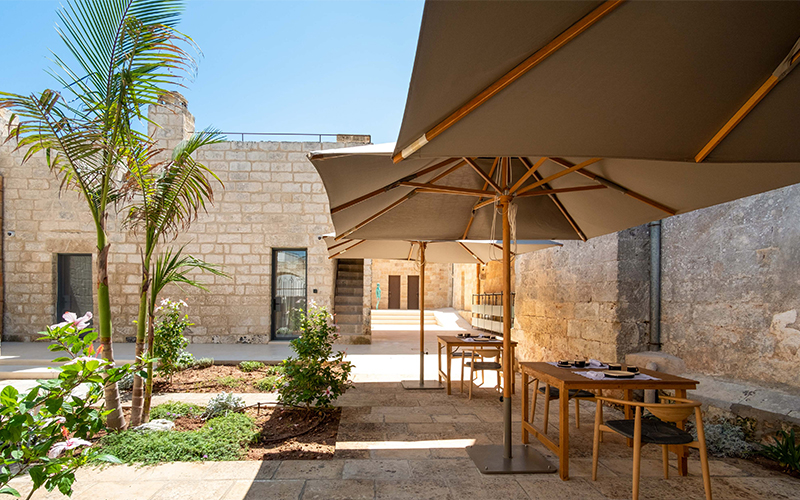 I tre Bacili: hospitality at home. A widespread hotel between Salento tradition and innovation in green building.