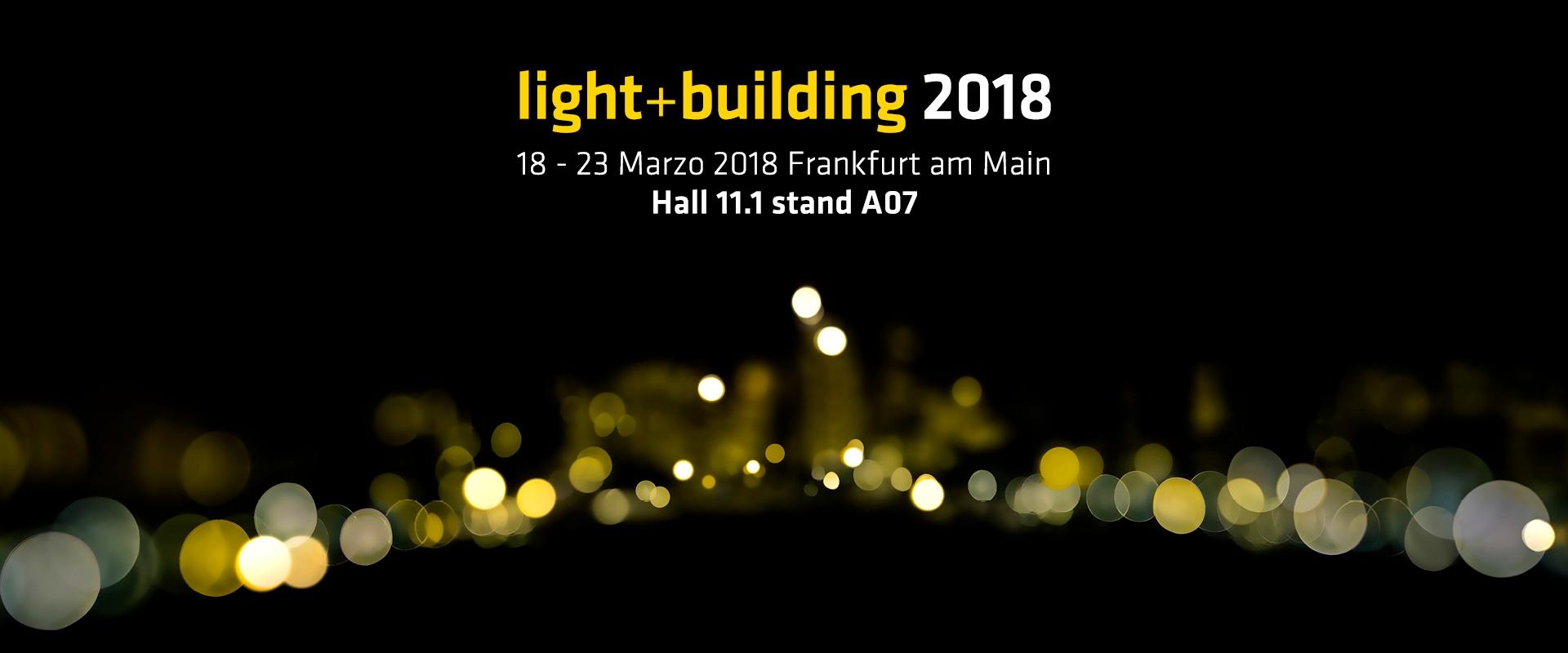 light+building 2018 - Francoforte
