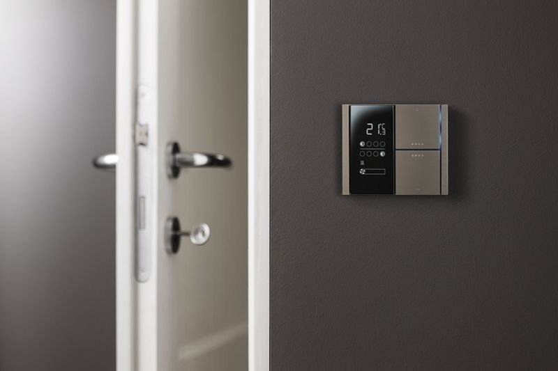 Ekinex KNX Thermoregulation's solution for residential properties