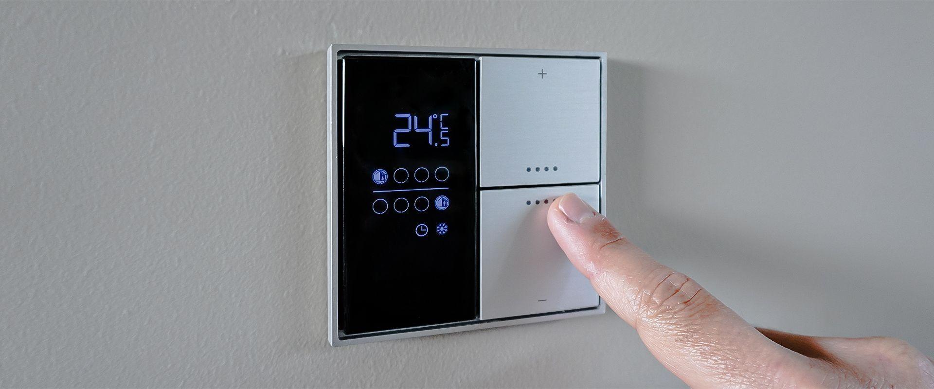 Controllare temperatura e ventilazione con KNX per risparmiare energia e aumentare il comfort