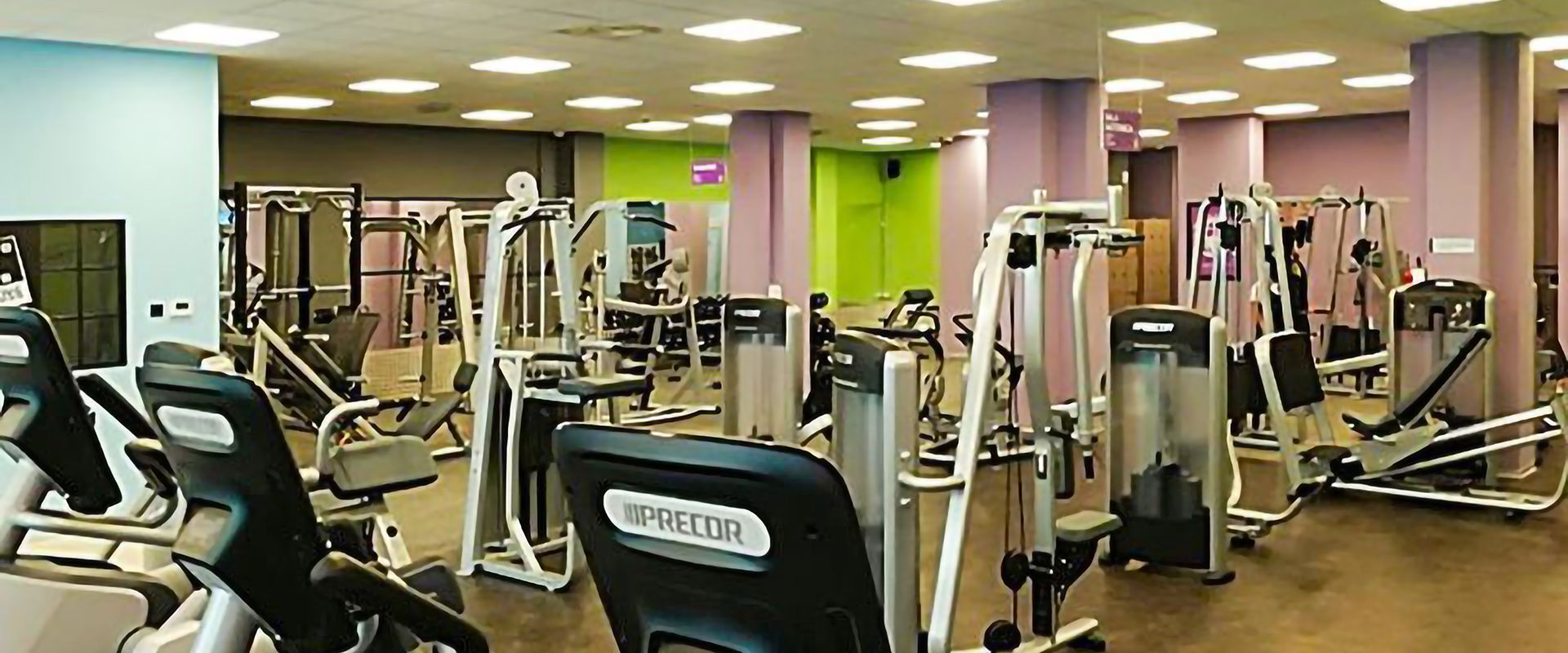 Turnhalle Anytime Fitness in Mailand