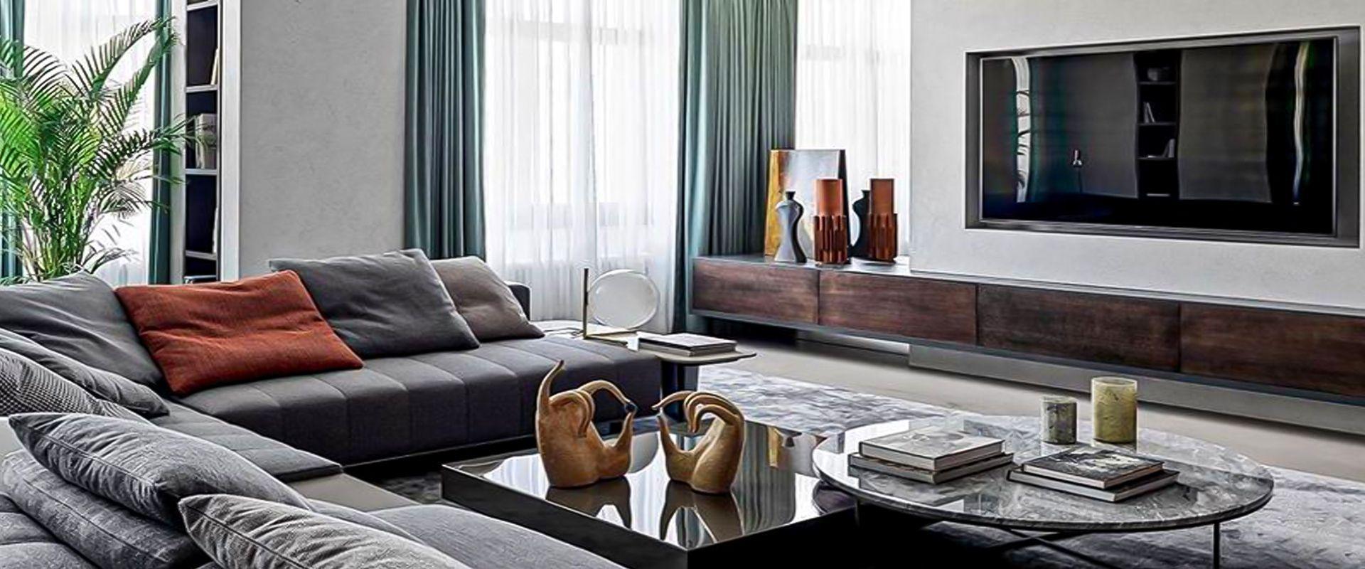 Un appartamento classico ed elegante ispirato allo stile francese