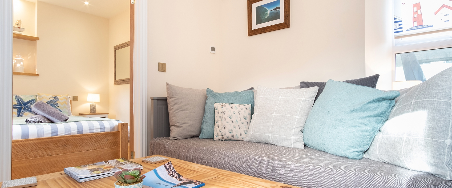 A Holiday Home and Show Apartment in South Cornwall
