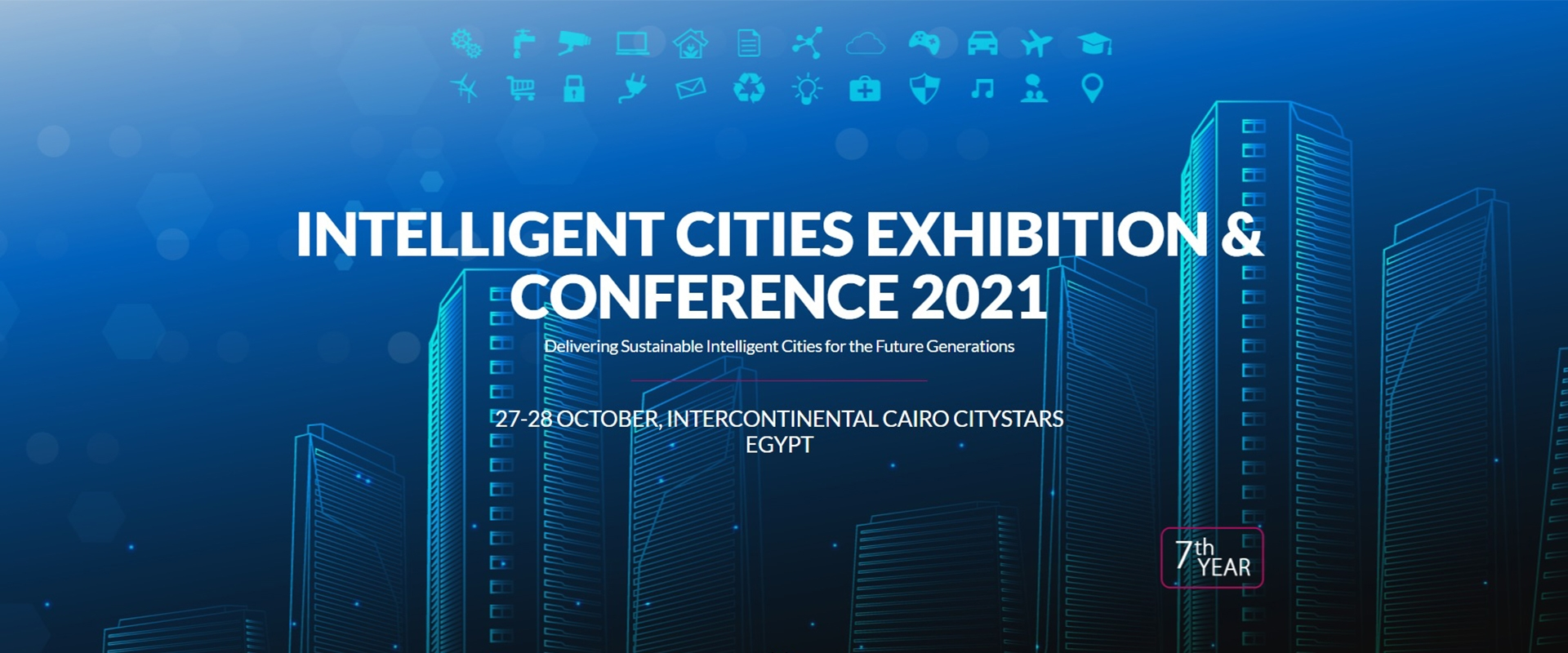 Intelligent Cities Exhibition & Conference 2021 - 27-28 ottobre - Egitto