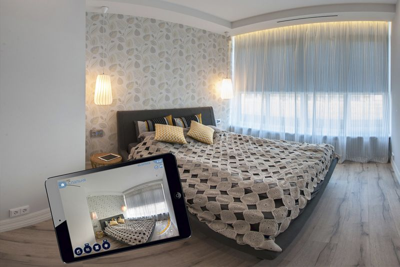 Comfort and style - 4-room apartment in St. Petersburg