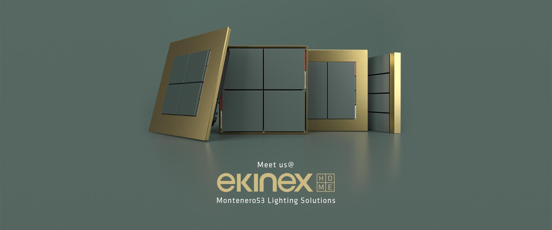 TECNOLOGIA, ESTETICA E DESIGN: nuovo Ekinex corner MONTENERO53 Showroom Milano