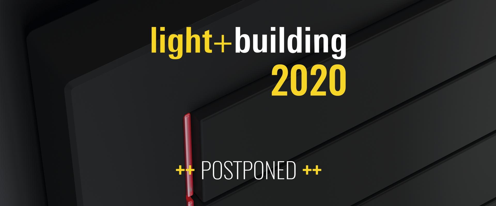 Light+Building - 8-13 Marzo 2020 - Francoforte