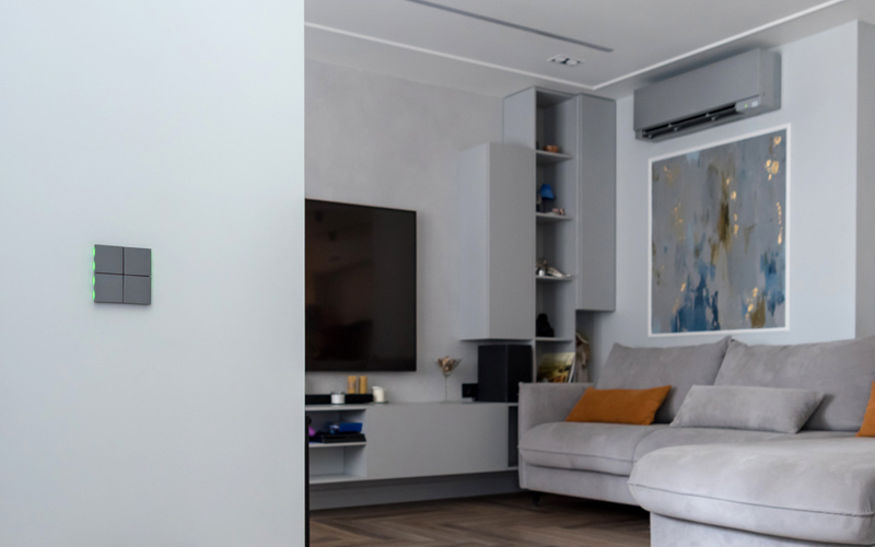 Un appartement intelligent à Saint-Pétersbourg