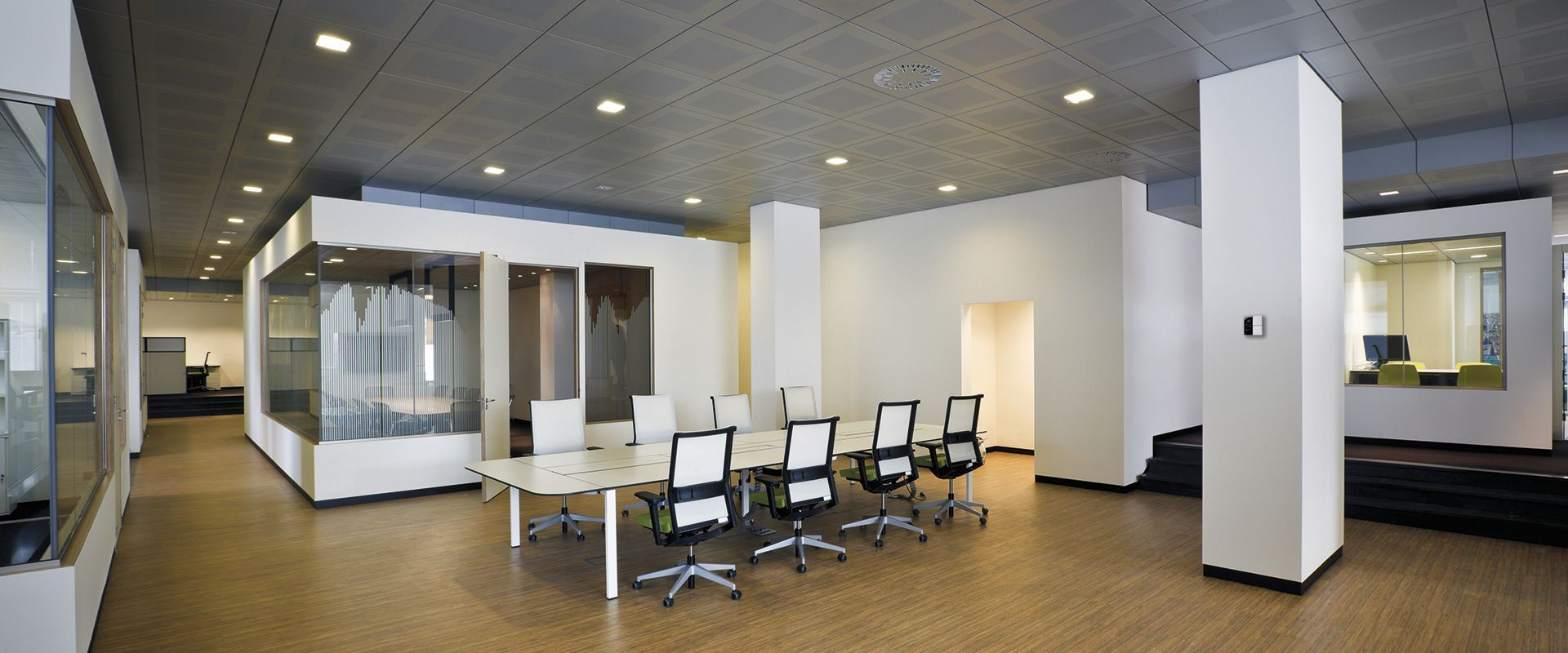 La termoregolazione Ekinex® in una sede aziendale