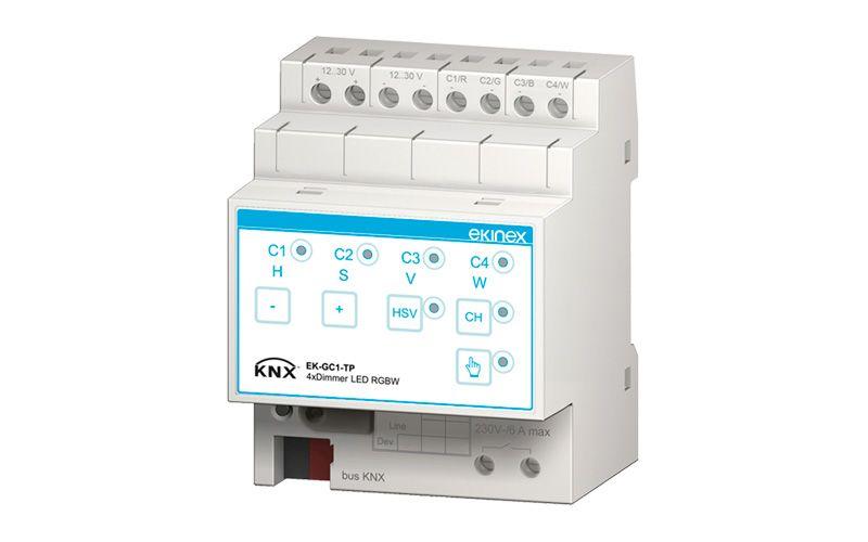 New LED Dimmer Actuators | Ekinex