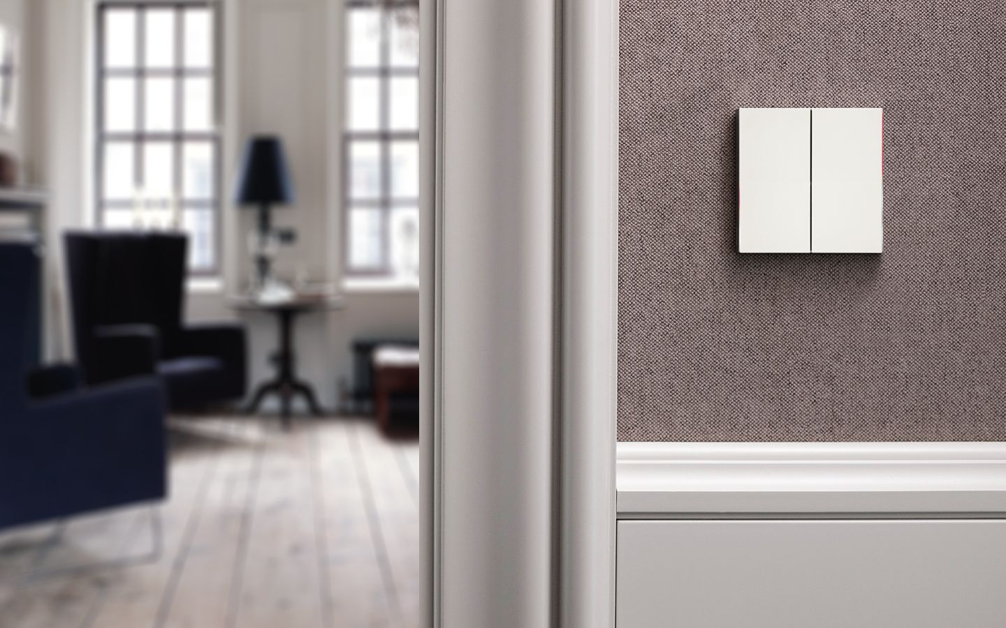 Comfort and energy management by the KNX system