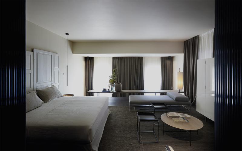 Room control in hotel building