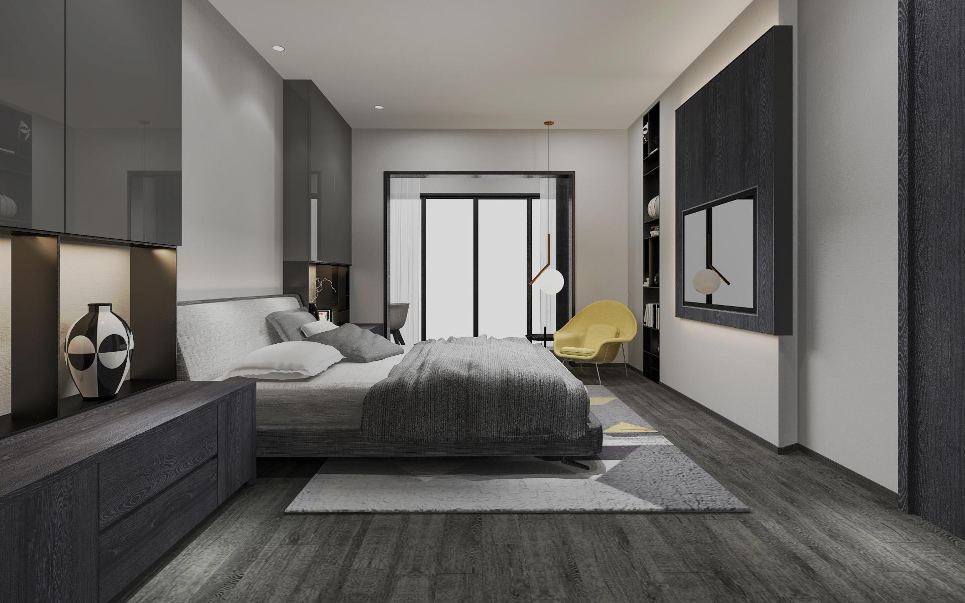 Impianto a soffitto radiante in edificio residenziale