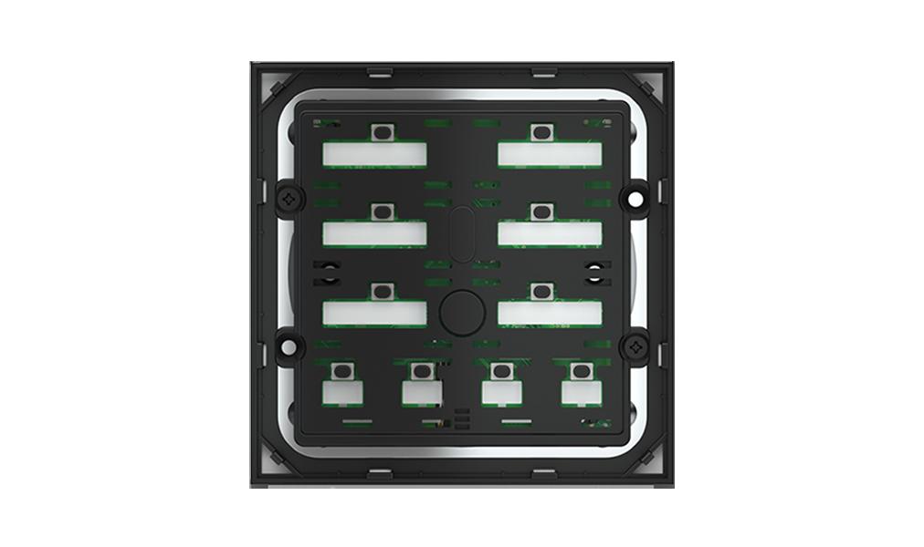 Pulsante 10 tasti con testi/simboli retroilluminati e sensore di prossimità